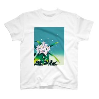 沈丁花(ジンチョウゲ) T-shirts