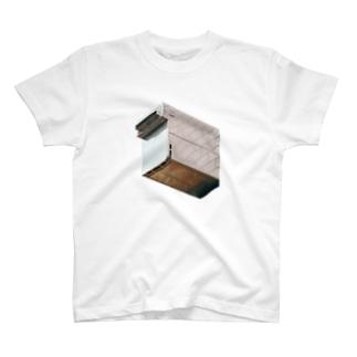 レンガのダクト T-shirts