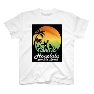 ホノルル・ゾンビ・ストリート T-shirts