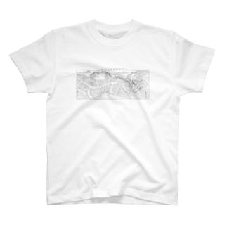 東金鳥瞰図 T-shirts