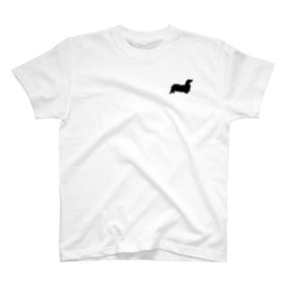 ドット絵ダックスくん T-shirts