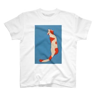 ニシキネコ T-shirts