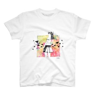 トライアングル T-shirts