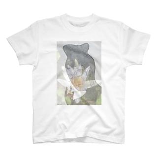 弥勒菩薩と蓮の花 T-shirts