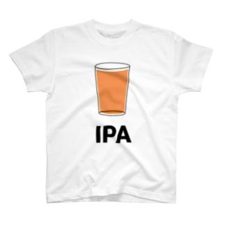 IPA - インディアペールエール T-shirts
