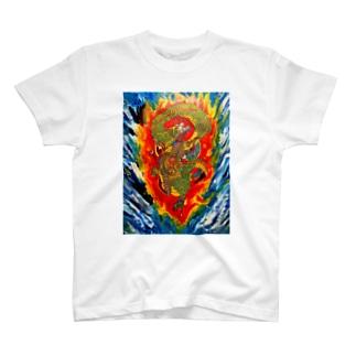 蒼龍シャツ T-shirts