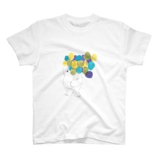 たくさん集めた風船なら T-shirts