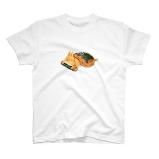 せんべいうさぎ T-shirts