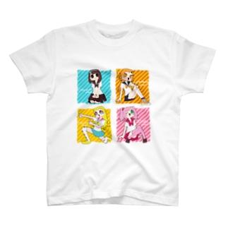 アイドルでんせつ T-shirts