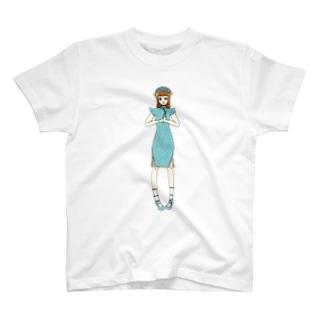 かえで(チャイナドレス) T-shirts