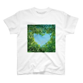 Covers & Colors 2021 ジャケット(シンプル) T-shirts
