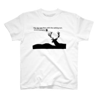 影絵☆彡鹿 T-shirts
