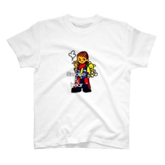 クマを背負ったボヘミアンB T-shirts