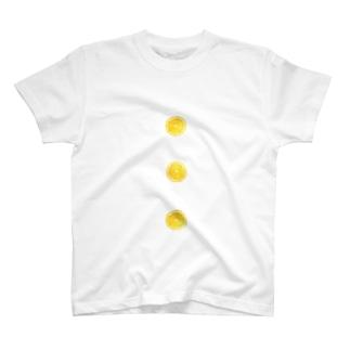 はちみつレモンのボタン T-shirts