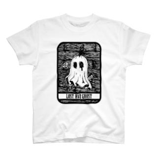 SAUNA ZOMBIES - LOST HAT GHOST T - T-Shirt