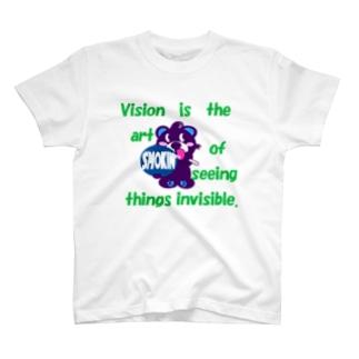 くるりんモクモックマB 紫 T-shirts