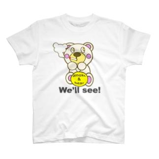 一服モクモックマ  白 T-shirts