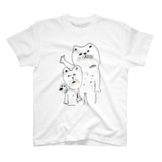ヒゲそると、あとのこるよー! T-shirts