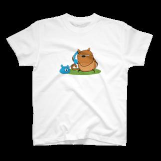 ねこにゃんのもしにゃ~?♡ T-shirts