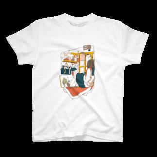 ダイスケリチャードのオレンジモウフ T-shirts