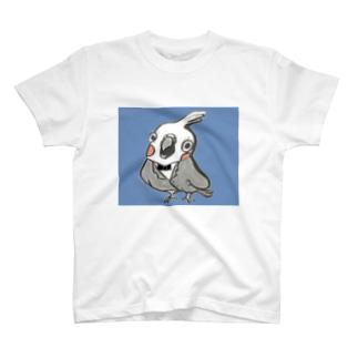 オカメインコのプーちゃん2 T-shirts