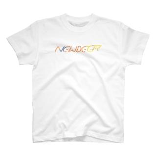 ニューディアーロゴ feat.Peter Millard Tシャツ T-shirts