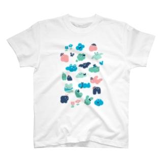 もくもくお化けたち T-shirts