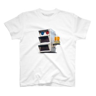 駐車場の信号 T-shirts