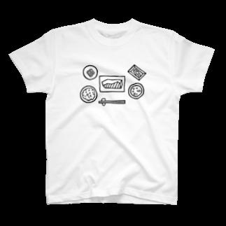 玉村聡之のasagohan T-shirts
