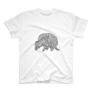 armadillo T-shirts