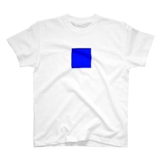 一部blue T-shirts