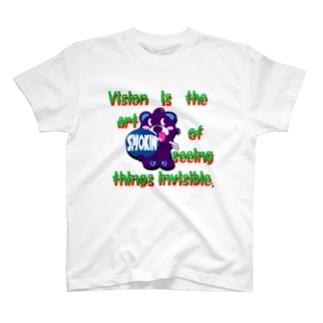 くるりんモクモックマD紫 T-shirts