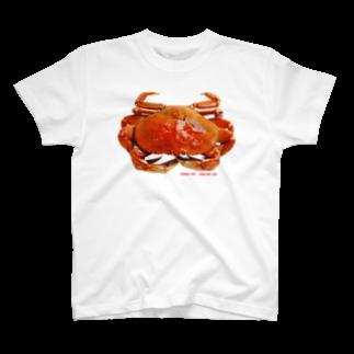 GOOD BOY JABオフィシャルオンラインストアのかに T-shirts
