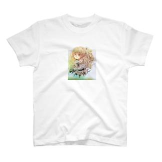 アンティーク 少女 T-shirts