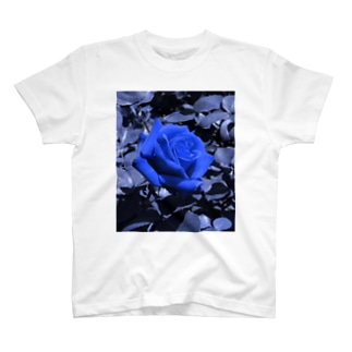 Rose(Blue) T-shirts