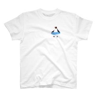 うきわペンギン T-shirts
