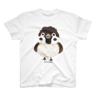 スズメがちゅん T-shirts