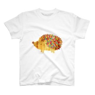 からふるハリネズミ T-shirts