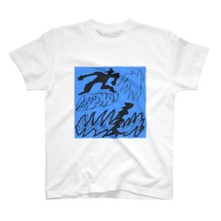 surfing boy T-shirts