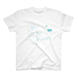 クアイローT(bw) T-shirts
