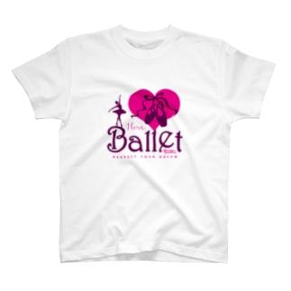 I Love Ballet B T-shirts