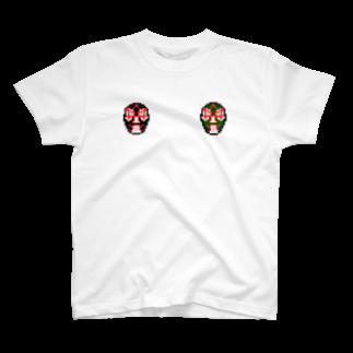 ドットっとのドットの覆面レスラーT T-shirts