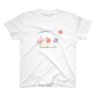 綺麗なお花 T-shirts