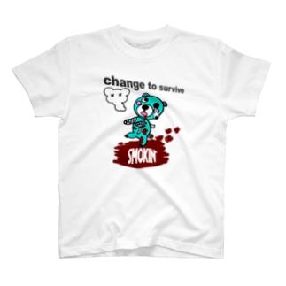 モクモックマゾンビ チョコミント T-shirts
