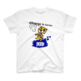 モクモックマゾンビ 黄 T-shirts
