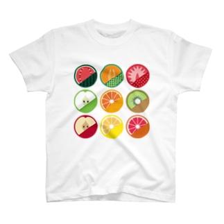 フルーツTシャツ T-shirts