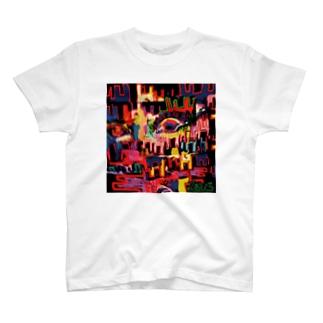 burning monk T-shirts