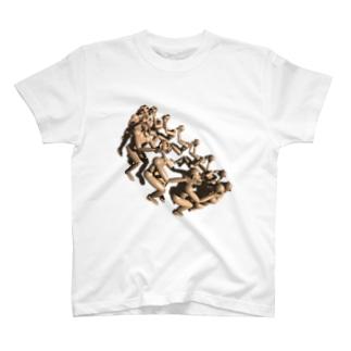 神、自ら御身を創り給う T-shirts