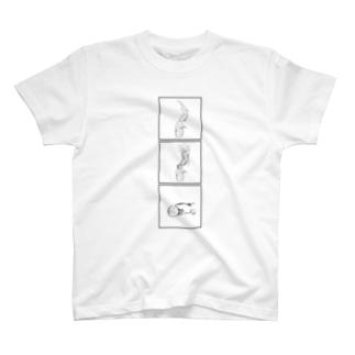 はんざきの デスロール 危ないぞ (オオサンショウウオ) T-shirts