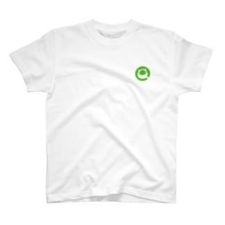 Qiitan Tシャツ(白・黒) T-Shirt
